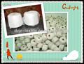 Organico pettinato cotone/poliestere riciclato 20s-40s