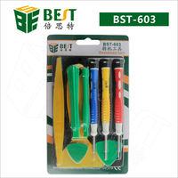 High quality solder assist mobile phone repairing tools Set (6 in 1)