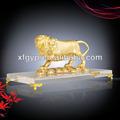 ทองรูปปั้นสิงโต
