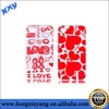 Case For iphone 4 4s,Customized Designed Couple Cell Phone Case.