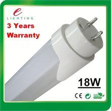 Warranty 3 yesrs 1200mm 18w 4 feet dimmable led t8 tube fluorescent light
