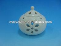 Ceramic incense burner