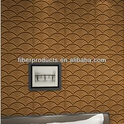 3d bamboo fiber material wall panel