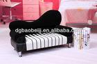 Double seat piano leather sofa