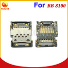 Gray Color Original New Smart Phone Small Parts Memory Holder Replacement For BlackBerry Pearl 8100