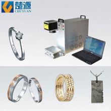 10W 20W 30W Fiber Laser Hallmarking Machine for Jewelry Gold Silver