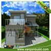 Steel structure eps sandwich panel modern designed modular homes
