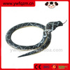 Carbonized all kinds of wooden snake toys,lifelike cobra snake toy,handmade ugly toy animal