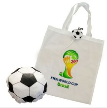 Ruby Ball + Basketball+ Football+ Soccer Shape Foldable Bag