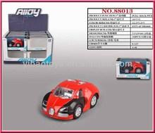 Diecast car, metal car Q version mini car