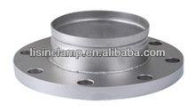 OEM stainless steel grooved flange changed fitting with low price