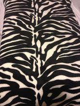 New Zebra Black And White Blanket Super Soft Throw Queen Fleece Ship Fast