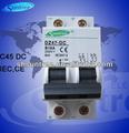 Iec dz47 mini interruptor de circuito 1p~4p