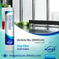 Multi Purpose Paintable Broad Adhesion Acrylic Sealant To Fill Gap