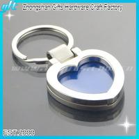 Heart Photo Frame Keychain Metal Digtal Photo Key chain GFT-KC-19