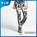 personalizado sin costura pantalones patrón impreso yoga señoras polainas