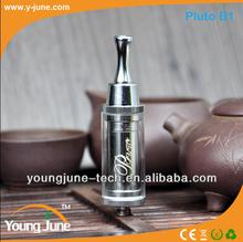 Youngjune original Dry herbs vaporizer Pluto with design Patent Better than refillable e cigarette cloutank m3