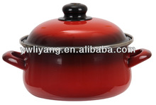 New products on China market cast iron cookware with enamel