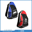 2014 Newly Male and female backpack bag triangle backpack Fashion and leisure sling backpack