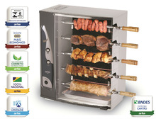 Rotary Electric Barbecue Skewers 5