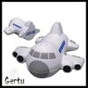 2014 latest promotional pu foam plane shape stress reliever toy