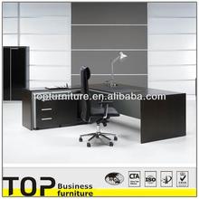 2015 üst düzey ofis cam metal el kullanılmış masif ahşap masa