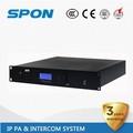 profissional ip audio digital amplificador pa