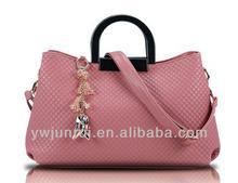 Fashion custom PU leather women accessories handbags