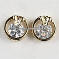 gioielli di pietra bianca orecchini in oro