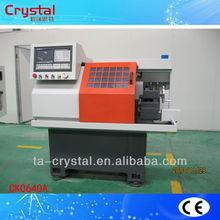 Multi purpose horizontal small cnc lathe machine brand CK0640A