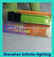 LED Dog leash LED Dog Collar Flashing LED Pet Collar/products wholesale led dog collars
