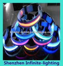 Design discount high quality led dog collar diy/flashing dog collar