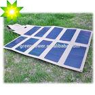 12V flexible & foldable solar panel for laptop, battery