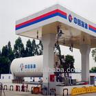 gas filling station