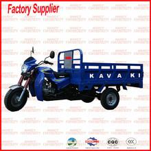 Guangzhou factory sale bigest size 200cc cargo three wheel motorcycle