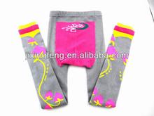 Kids cotton colorful tight pantyhose