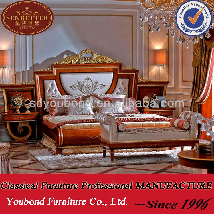 2014 klassieke slaapkamer set 0038, klassieke Europese meubels-bedden ...