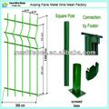 Clôtures palissade de clôture en métal jardin 3v pli. clôture de jardin( hebei)