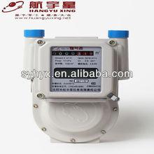 Smart IC Card Prepayment Aluminium Case Gas Meter G4.0