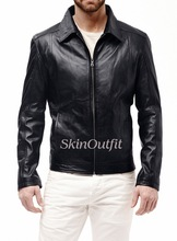 NeW Line Fashion Men's Leather Jacket