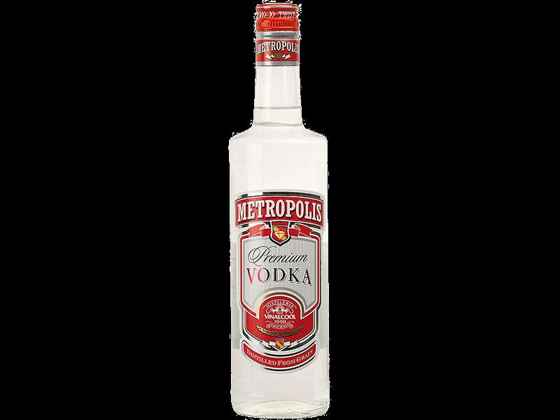 Vodka 100 Vodka Metropolis 100 cl