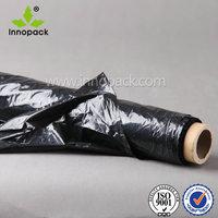 protective plastic mulch film/film plastique noir agriculture