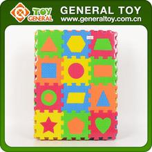 Custom printed foam puzzles/EVA foam alphabet puzzle mat/Cheap baby play mats