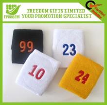 Custom Embroidery Basketball Sweatbands For Promotional Gfits