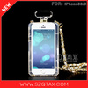 Cheap New cases Perfume Bottle for Iphone 5/5s phone bags Transparent Evening Bag