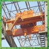 made in china outdoor double girder overhead grabbing crane cabin