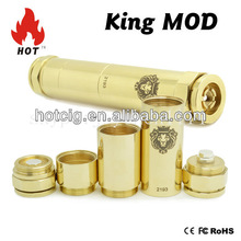 HOT best selling ce rohs electronic cigarette king mod clone mechanical mod