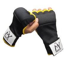 PADDED INNER HAND GRIP GEL WRAPS BOXING GLOVES MMA KICK BOXING BANDAG