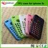 For iphone 5 5c 5s flip cover case TPU case