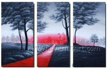 Modern Landscape Design Oil Painting Pictures Wholesale Wall Art on Canvas